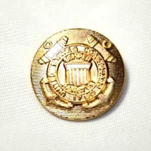 [処分品]メタルボタンI-07ゴールド15mm 紳士服スーツジャケットの袖口・袖ボタンに|ttp