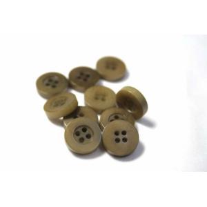 ナットシャツボタン(COLOR.3)11.5mm(NUT-110)【単品】老舗テーラー御用達スーツボタン専門店の高級ボタン|ttp