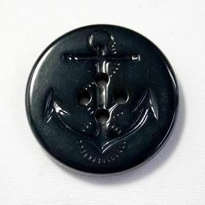 イカリボタン30mm 濃紺 ピーコートなどのコート・ジャケットに(color.58)(実寸約31mm) ttp