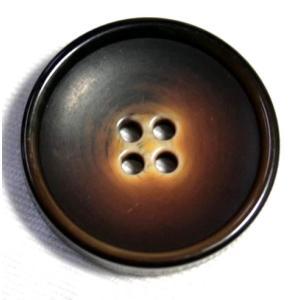 ビンテージ84 25mm (color.46ブラウン) コート対応ボタン老舗テーラー御用達スーツボタン専門店の高級ボタン|ttp