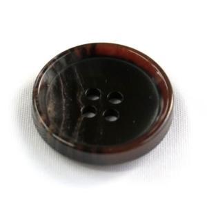 PV6 30mm (color.46ダークブラウン) コート対応ボタン(実寸は29mm)老舗テーラー御用達スーツボタン専門店の高級ボタン|ttp