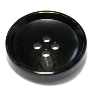 PV6 25mm (color.49 ブラック) コート対応ボタン老舗テーラー御用達スーツボタン専門店の高級ボタン|ttp
