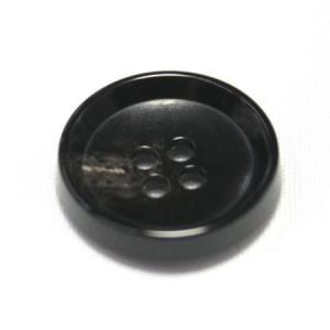 PV6 15mm (color.49 ブラック) コート対応ボタン老舗テーラー御用達スーツボタン専門店の高級ボタン|ttp
