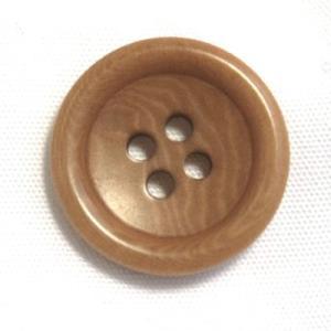 ナットボタン538(COLOR.43ライトブラウン) 25mm高級コートスーツコート用ボタン|ttp
