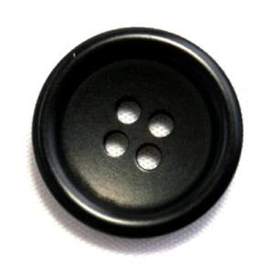 ナットボタン538(COLOR.09ブラック) 20mm 紳士服スーツジャケットの前ボタンに|ttp