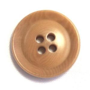 ナットボタン631(COLOR.43ライトブラウン) 25mm高級コートスーツコート用ボタン|ttp