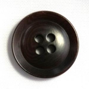 ナットボタン631(COLOR.48ダークブラウン) 25mm高級コートスーツコート用ボタン|ttp