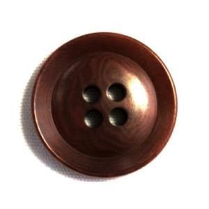 ナットボタン631(COLOR.46ブラウン) 20mm 紳士服スーツジャケットの前ボタンに|ttp