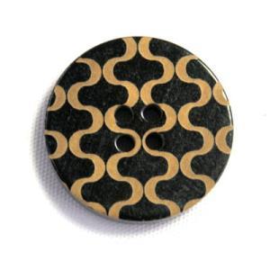 水牛ノルカ COLOR.188 15mm 水牛を削って柄を出した高級ボタン紳士服スーツジャケットの袖口・袖ボタンに|ttp