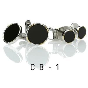 オニキス・カフススタッドセット14.CB-1  カフリンクススタッドセット|ttp