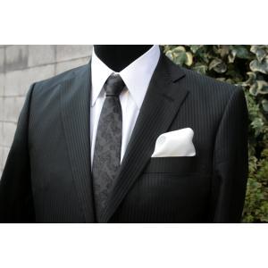 シルク100%ポケットチーフ白 シルクチーフ|ttp
