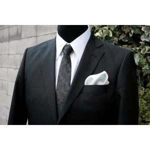 シルク100%ポケットチーフライトグレー シルクチーフ|ttp