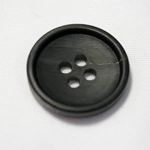 水牛ボタンK7000(COLOR.B) 20mmつや消し|ttp