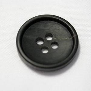 水牛ボタンK7000 COLOR.B  15mm袖口・袖ボタン 老舗テーラー御用達スーツボタン専門店の高級ボタンつや消し|ttp