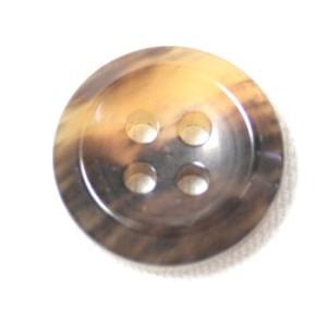 水牛シャツボタンHB270 COLOR.MB  11.5mm 老舗テーラー御用達スーツボタン専門店の高級シャツボタン|ttp