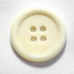 水牛ボタンK-150 COLOR.W  ホワイト23mm T93974  コートボタンの取替 老舗テーラー御用達スーツボタン専門店の高級ボタン|ttp