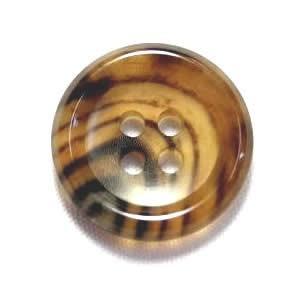 水牛ボタンK-150(COLOR.7A) ライトブラウン25mm(T93978)老舗テーラー御用達スーツボタン専門店の高級ボタン|ttp