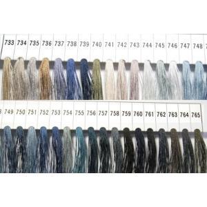 メール便120円 フジックスタイヤー絹穴糸16号 color733〜765 紳士用穴かがり糸 ttp