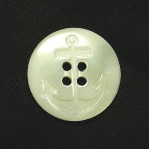 イカリ柄高瀬貝ボタン 20mm|ttp