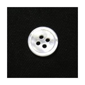 白蝶貝ボタン 11.5mm[単品]|ttp