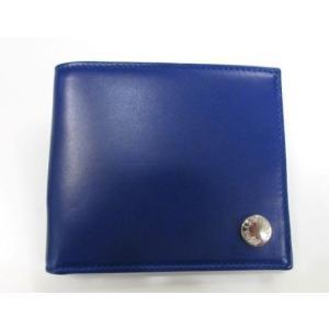 新品 メンズ ドルチェ&ガッバーナ 2つ折財布 ブルー ttrade