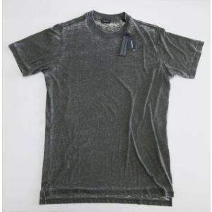 メンズ ディーゼル ラバー バックプリント Tシャツ カーキ L|ttrade