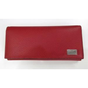 メンズ グッチ 2つ折長財布 カーフスキン レッド|ttrade