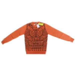 メンズ ヴェルサーチ セーター オレンジ S ttrade