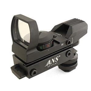 ANS Optical 軽量 143g マルチレティクル オープンドットサイト カメラ用 マウント アダプターセット 各社ホットシュー規格対|tts