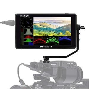 ANDYCINE C6 カメラビデオモニター 超高輝度 2600nit HDR/3D LUT タッチスクリーン 6インチ 4K HDMI 出|tts