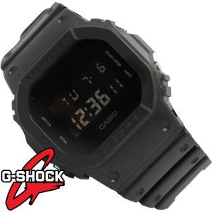 G-SHOCK 腕時計 メンズ 時計 デジタル ソリッドカラーズ マッドブラック  海外モデル Gショック DW-5600BB-1 新品 無料ラッピング可|ttshop-trust