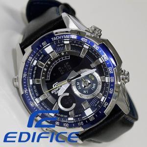 エディフィス腕時計 ERA-600L-2AV クロノグラフ デジアナ デジタル アナログ メンズ CASIO カシオ 新品 無料ラッピング可|ttshop-trust