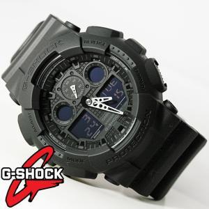 Gショック G−SHOCK g-shock 腕時計 GA-100-1A1 CASIO デジアナ ワールドタイム メンズウォッチ 海外モデル 新品|ttshop-trust