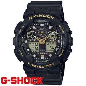 G-SHOCK 腕時計 メンズ 時計 デジアナ デジタル アナログ ワールドタイム  海外モデル Gショック GA-100GBX-1A9 新品 無料ラッピング可|ttshop-trust