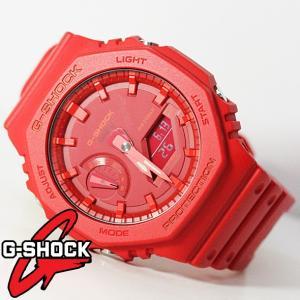 Gショック G−SHOCK g-shock 腕時計 メンズ 時計 デジアナ デジタル アナログ ワールドタイム 海外モデル CASIO GA-2100-4A 新品 無料ラッピング可|ttshop-trust