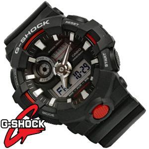 G-SHOCK 腕時計 メンズ 時計 デジアナ デジタル アナログ ワールドタイム 海外モデル Gショック CASIO GA-700-1A 新品 無料ラッピング可|ttshop-trust