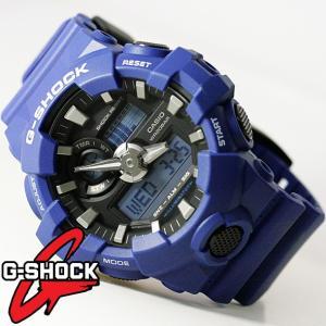 G-SHOCK 腕時計 メンズ 時計 デジアナ デジタル アナログ ワールドタイム 海外モデル Gショック CASIO GA-700-2A  新品 無料ラッピング可|ttshop-trust