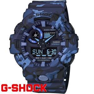 G-SHOCK 腕時計 メンズ 時計 デジアナ デジタル アナログ ワールドタイム 海外モデル Gショック CASIO GA-700CM-2A  新品 無料ラッピング可|ttshop-trust