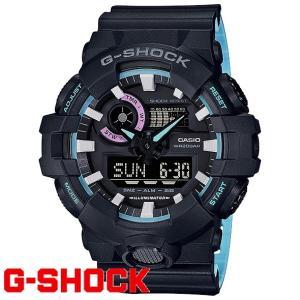 G-SHOCK 腕時計 メンズ 時計 デジアナ デジタル アナログ ワールドタイム 海外モデル Gショック CASIO GA-700PC-1A 新品 無料ラッピング可|ttshop-trust