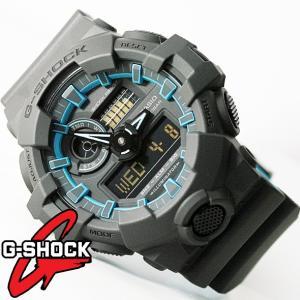 G-SHOCK 腕時計 メンズ 時計 デジアナ デジタル アナログ ワールドタイム 海外モデル Gショック CASIO GA-700SE-1A2  新品 無料ラッピング可|ttshop-trust