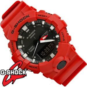 G-SHOCK 腕時計 メンズ 時計 デジアナ デジタル アナログ  海外モデル Gショック CASIO GA-800-4A  新品 無料ラッピング可|ttshop-trust