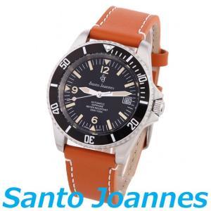 セントジョイナス 腕時計 メンズ 時計 自動巻き アンティーク調 フェイス Santo Joannes SJ101-02 送料無料 新品 無料ラッピング可|ttshop-trust