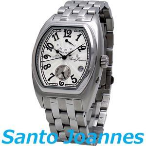 セントジョイナス 腕時計 メンズ 時計 自動巻き パワーリザーブ Santo Joannes SJ5001-05 新品 無料ラッピング可|ttshop-trust