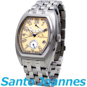 セントジョイナス 腕時計 メンズ 時計 自動巻き パワーリザーブ Santo Joannes SJ5001-07 新品 無料ラッピング可|ttshop-trust