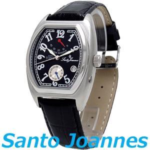 セントジョイナス 腕時計 メンズ 時計 自動巻き パワーリザーブ Santo Joannes SJ5006-02 新品 無料ラッピング可|ttshop-trust