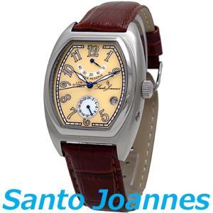 セントジョイナス 腕時計 メンズ 時計 自動巻き パワーリザーブ Santo Joannes SJ5006-07 新品 無料ラッピング可|ttshop-trust