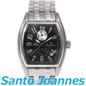 セントジョイナス 腕時計 メンズ 時計 自動巻き パワーリザーブ Santo Joannes SJ5011-02 新品 無料ラッピング可|ttshop-trust