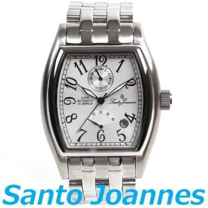 セントジョイナス 腕時計 メンズ 時計 自動巻き パワーリザーブ Santo Joannes SJ5011-05 新品 無料ラッピング可|ttshop-trust