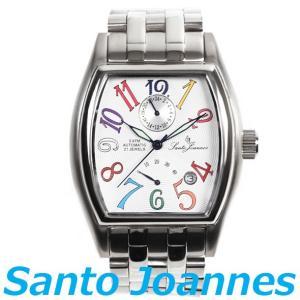 セントジョイナス 腕時計 メンズ 時計 自動巻き パワーリザーブ Santo Joannes SJ5011-08 新品 無料ラッピング可|ttshop-trust