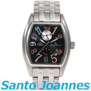セントジョイナス 腕時計 メンズ 時計 自動巻き パワーリザーブ Santo Joannes SJ5011-09 新品 無料ラッピング可|ttshop-trust